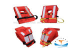 EC Foam Custom Life Preserver Vest , Boat Life Jackets Orange High Life - Saving Ratio