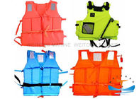 PU Material Marine Safety Equipment Life Jacket OEM Service 75N For Working