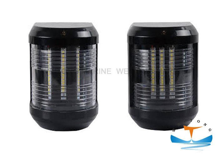 LED 5W 12V 12m Boat Navigation Lights , CXH-4P Marine Signal Light Mutiple Colors