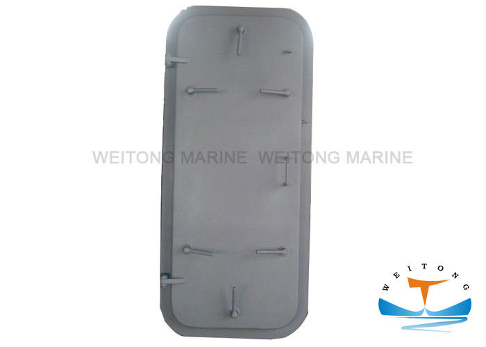 Single Handle Steel Marine Watertight Doors Quick Acting For LNG Carriers