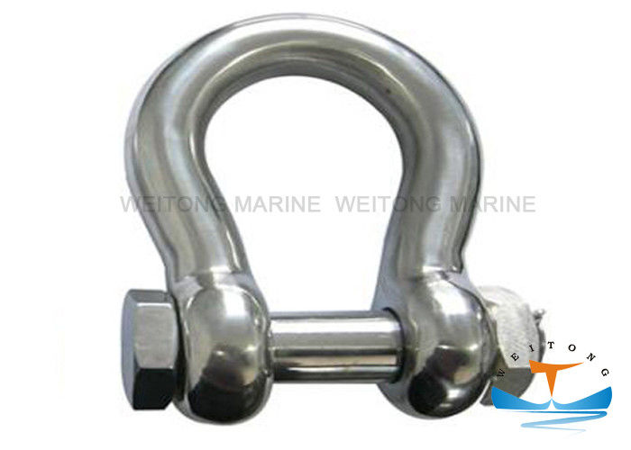 Customized Size Rigging Lifting Equipment Durable Stainless Steel Shackles