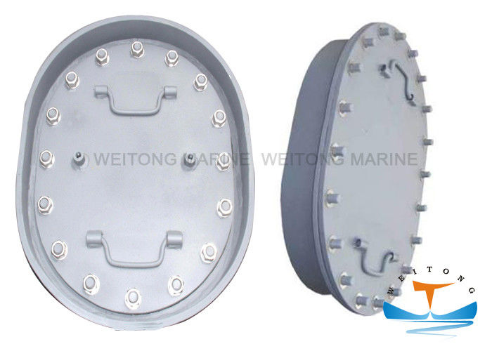 CCS Approval Type B Manhole , Marine Manhole Cover For Ship Voids Access